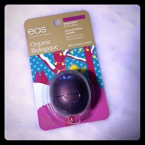 NEW eos Organic Sugarplum limited edition lip balm